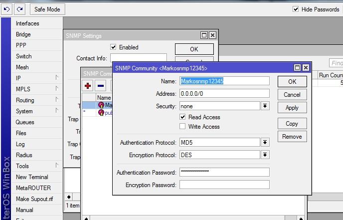 Configure SNMP for Mikrotik – HotspotSystem Help Desk