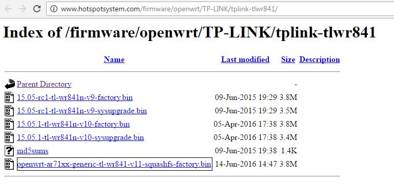 TPLink 841N v11 HotspotSystem Setup – HotspotSystem Help Desk