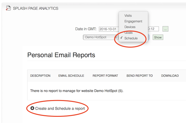 Analytics Scheduler